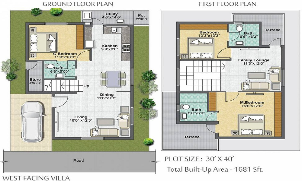 Metropolis Fair Oaks Floor Plan