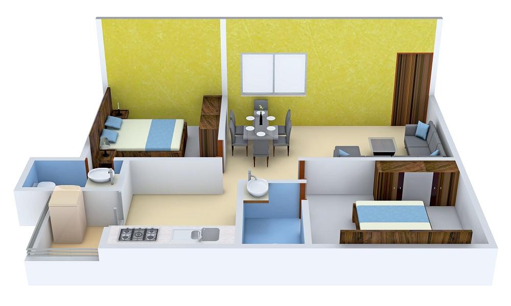 DS Sky Classic Floor Plan