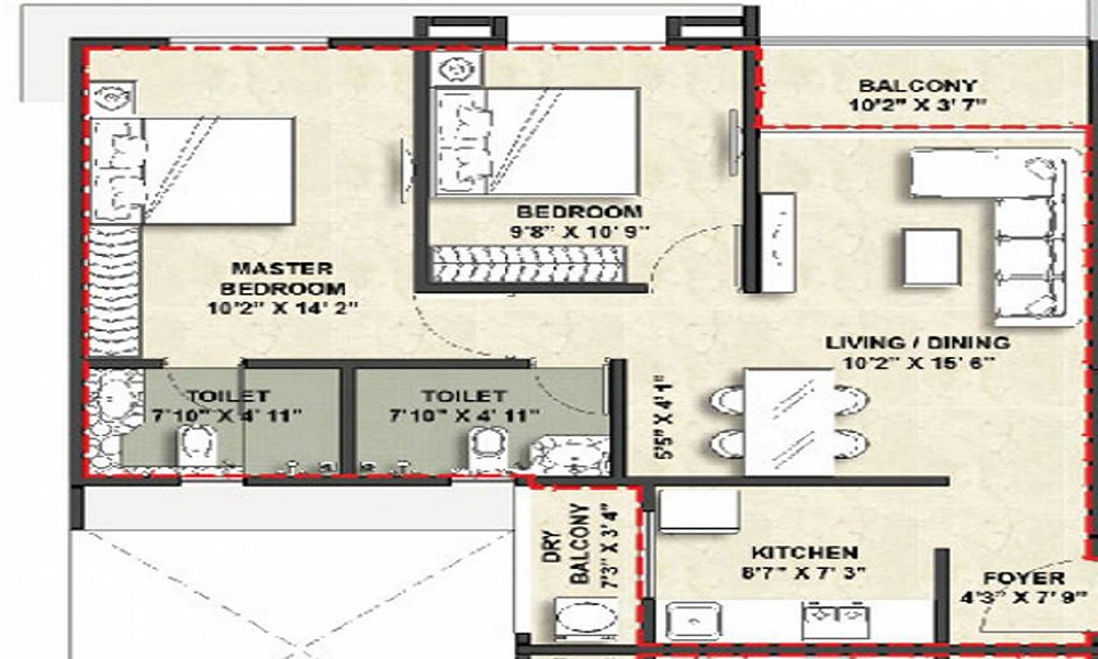 Vascon Xotech Phase 2 Floor Plan