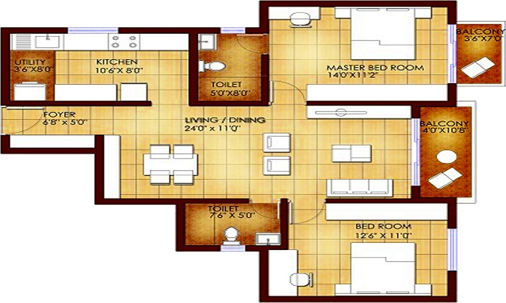 Suvastu Kings Square Floor Plan