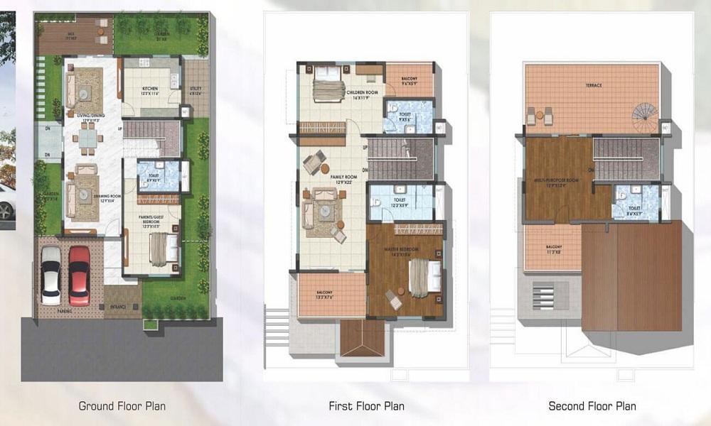 NCC Green Province Floor Plan