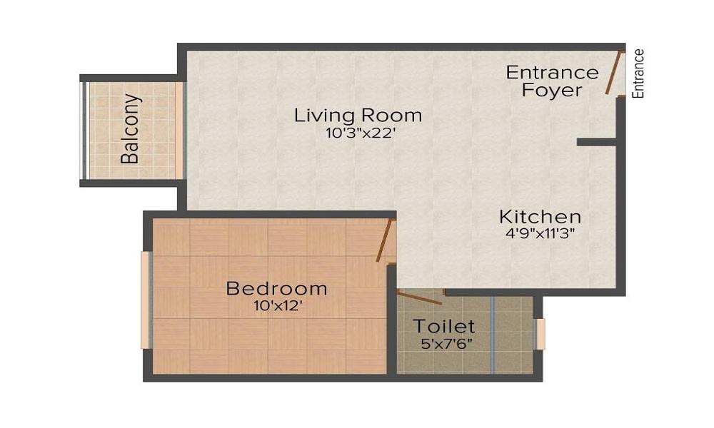 Hiranandani Glen Classic Floor Plan
