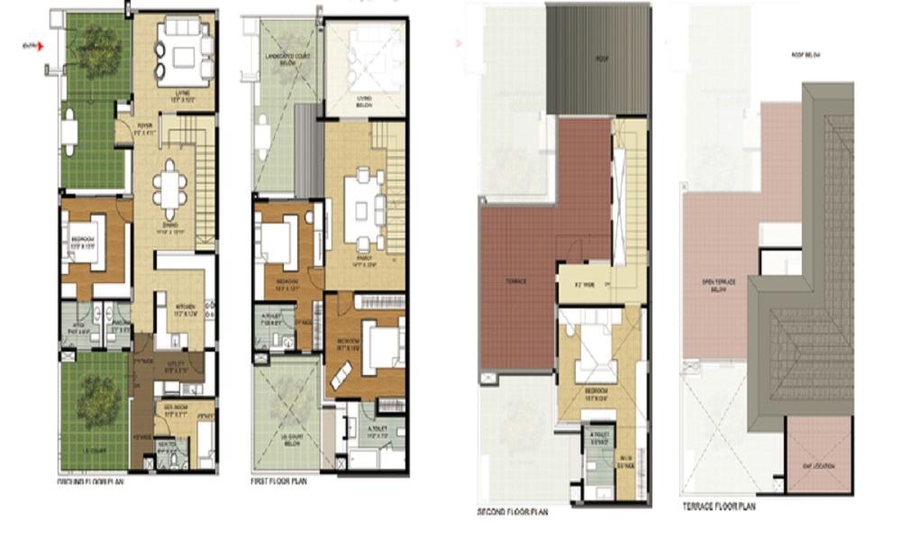 Brigade Atmosphere Floor Plan