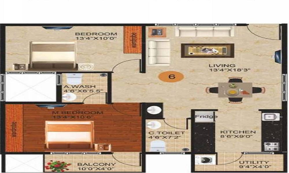 Peace Paramount Floor Plan