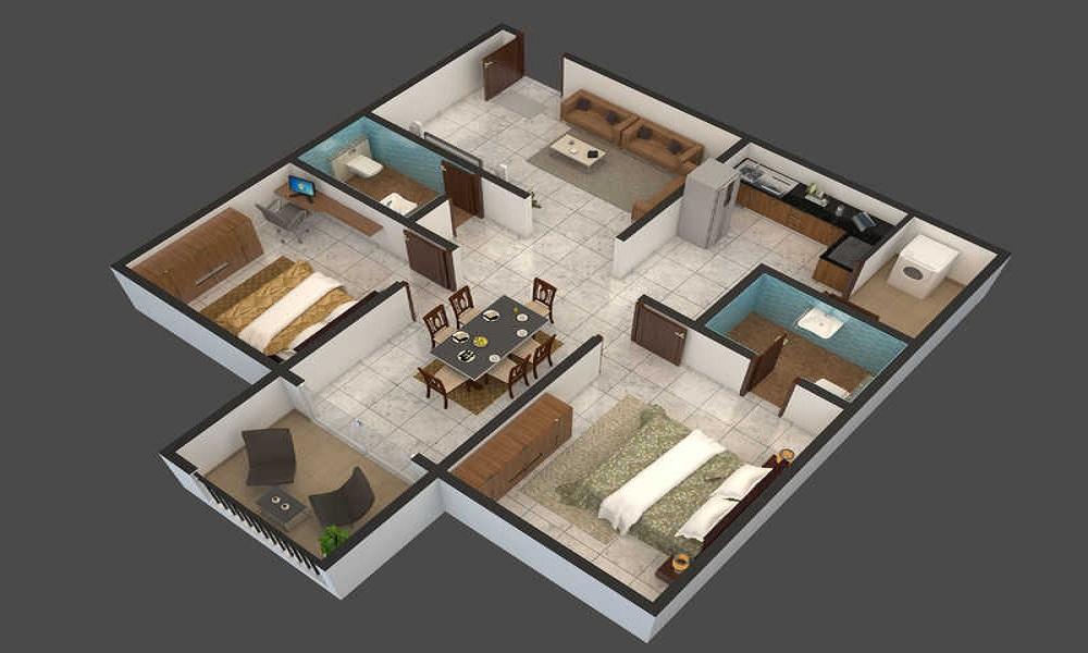 ELV Kingsland Floor Plan