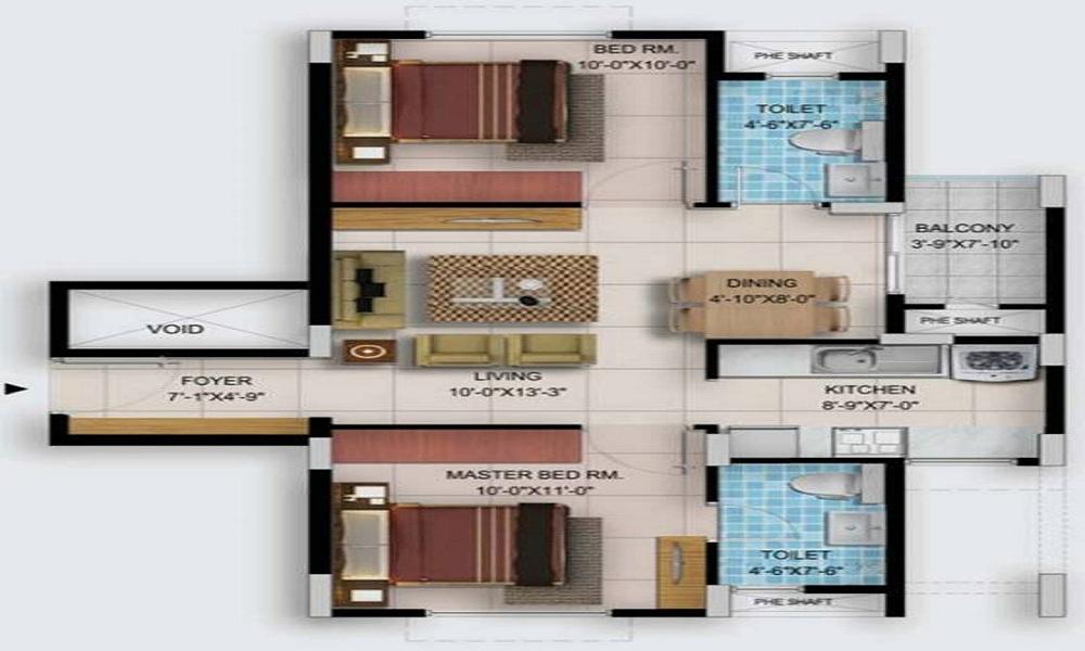 Provident Too Good Homes Floor Plan