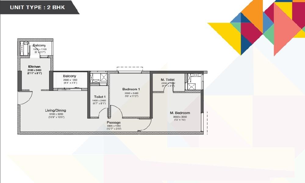 Godrej Nurture Mamurdi Floor Plan