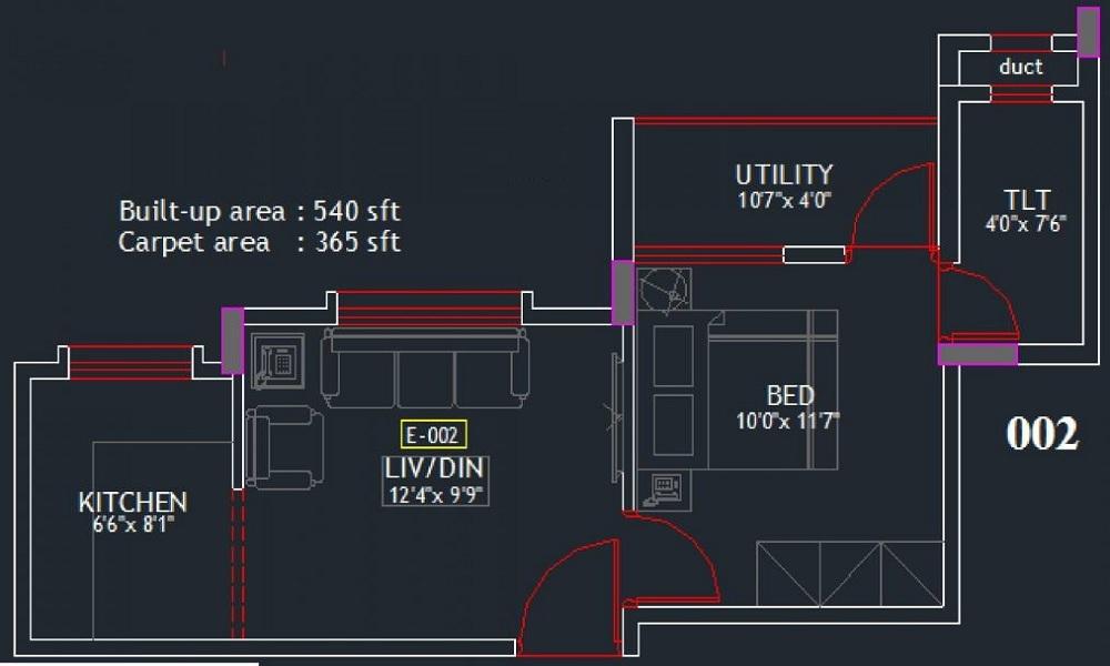 Eswar Dhruvam Floor Plan