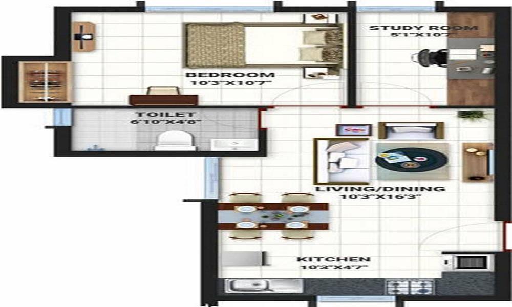Bren Northern Lights Floor Plan