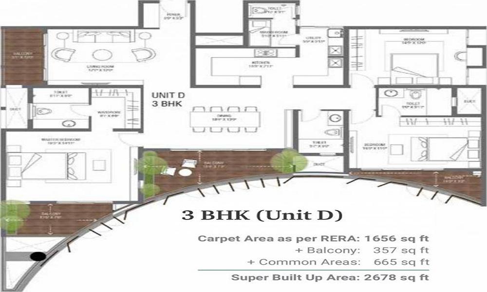 Assetz 38 And Banyan Floor Plan