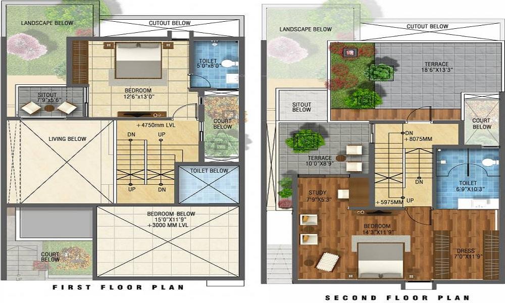 GR Santhrupthi Floor Plan