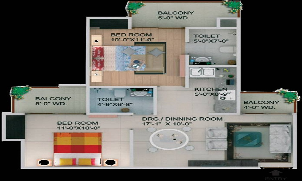Supertech CapeTown Floor Plan
