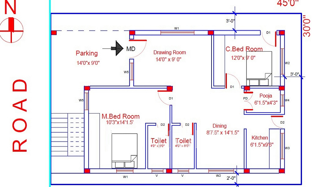 SV Avenues Floor Plan