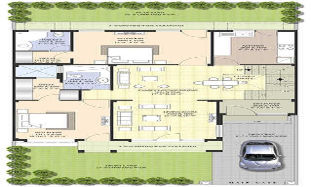 Parsvnath Elite Villas Floor Plan