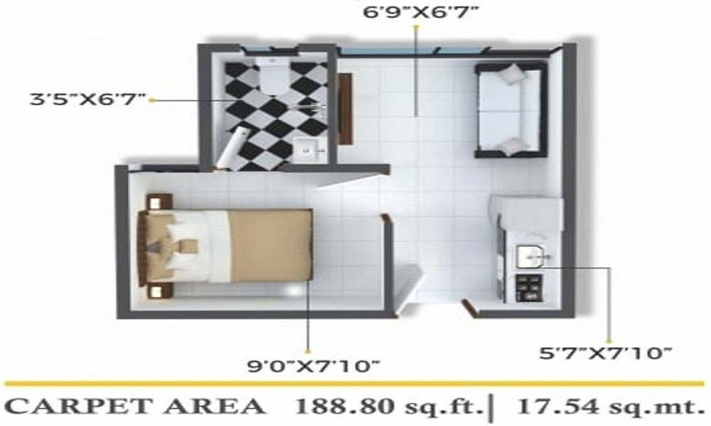 Xrbia Chembur Central Ivy B Floor Plan