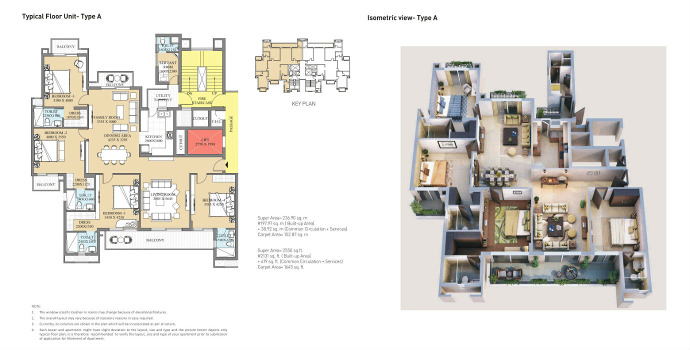 ATS Destinaire Floor Plan