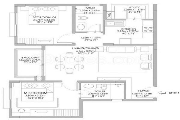 Ozone Urbana Pavilion Floor Plan
