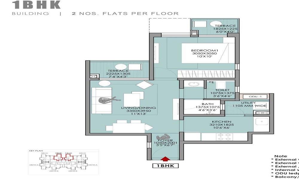Godrej Mahalunge Floor Plan