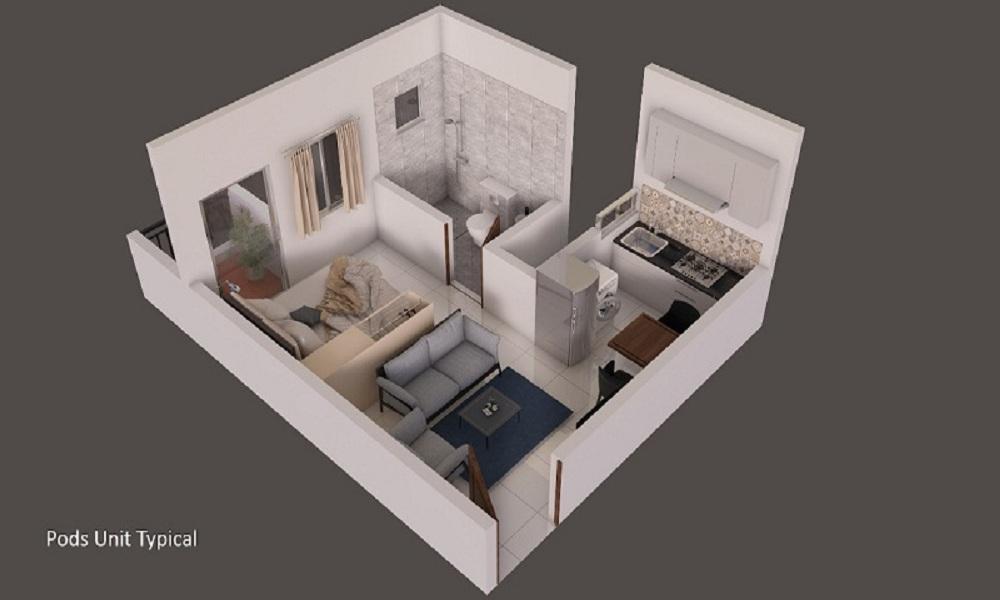 Provident Capella Floor Plan