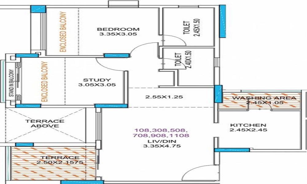 Guardian Eastern Meadows Phase 2 Floor Plan