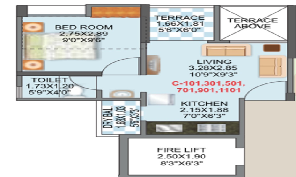 Mantra Essence Phase 2 Floor Plan