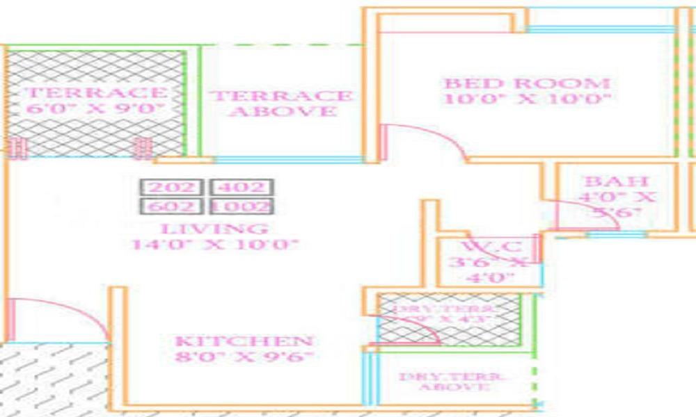 ARV Royale Floor Plan