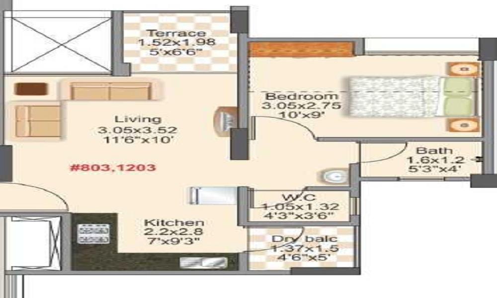 Mantra 24 West Phase 4 Floor Plan