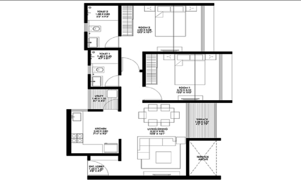 Gagan Ela Floor Plan