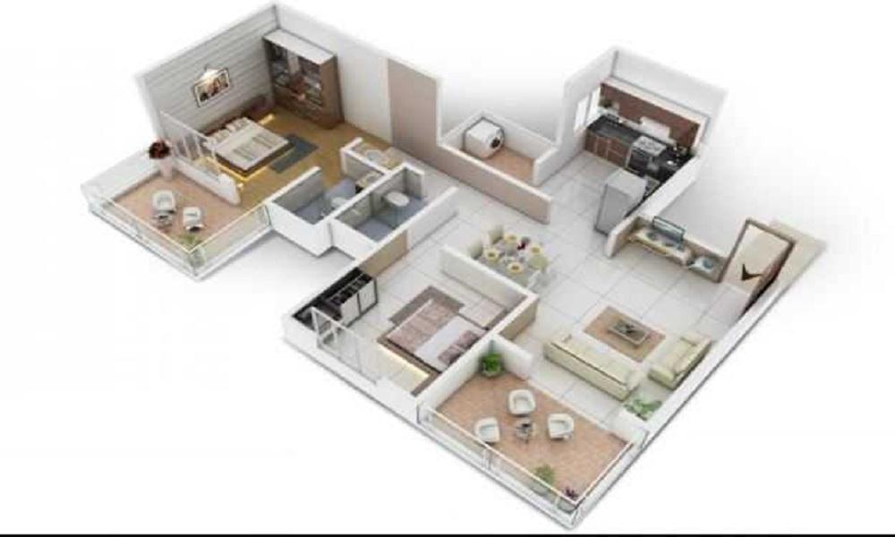 Shree Venkateshwara Royal Rohana Floor Plan