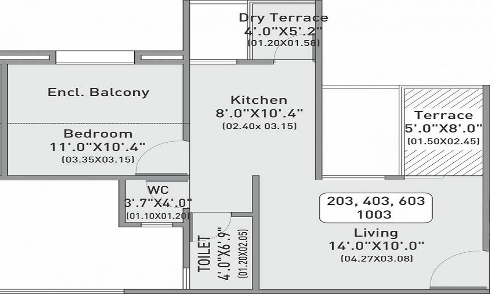 Vision Indrabhumi Floor Plan