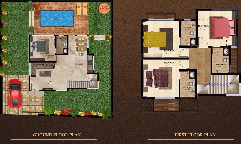 GG The Beverly Hills Floor Plan