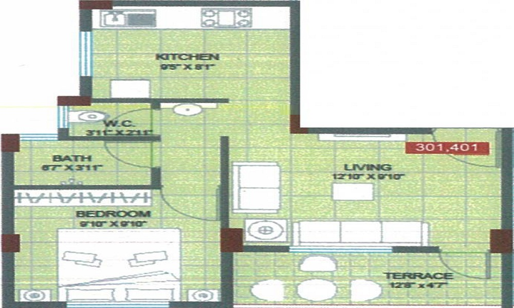 Pathan Classic Floor Plan