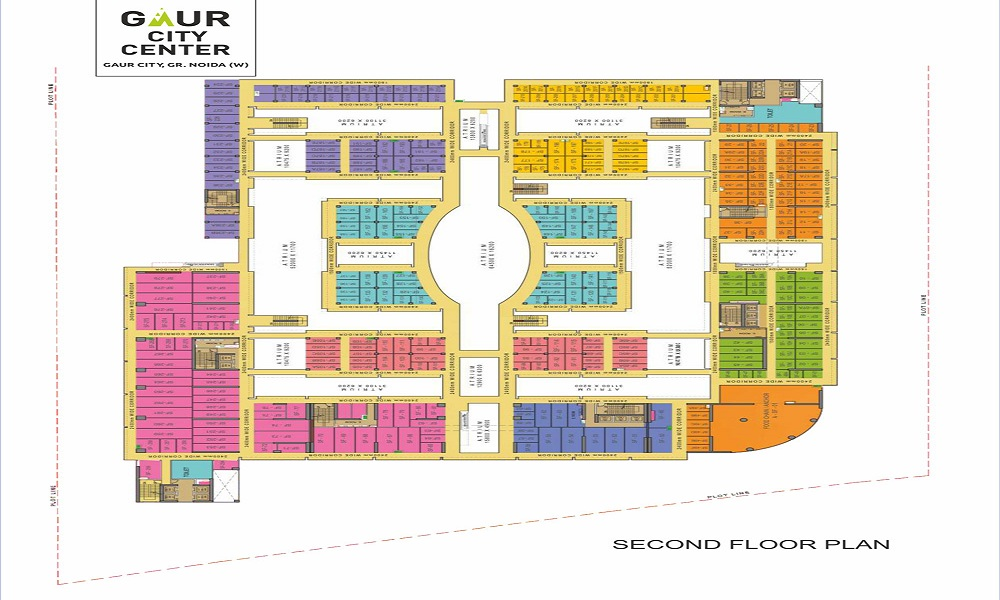 Gaur City Center Floor Plan