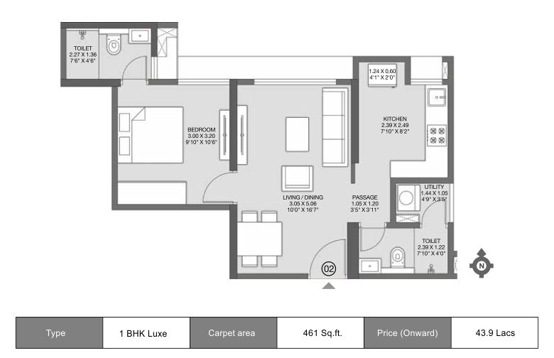 Godrej Nirvaan Floor Plan