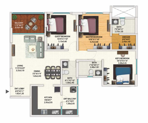 Gera World Of Joy Floor Plan