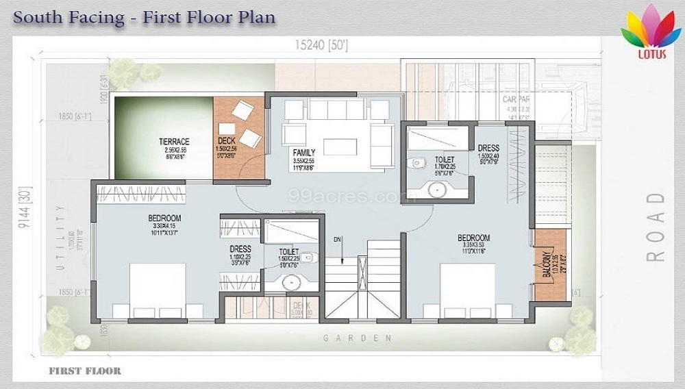 JS Lotus Plots Floor Plan