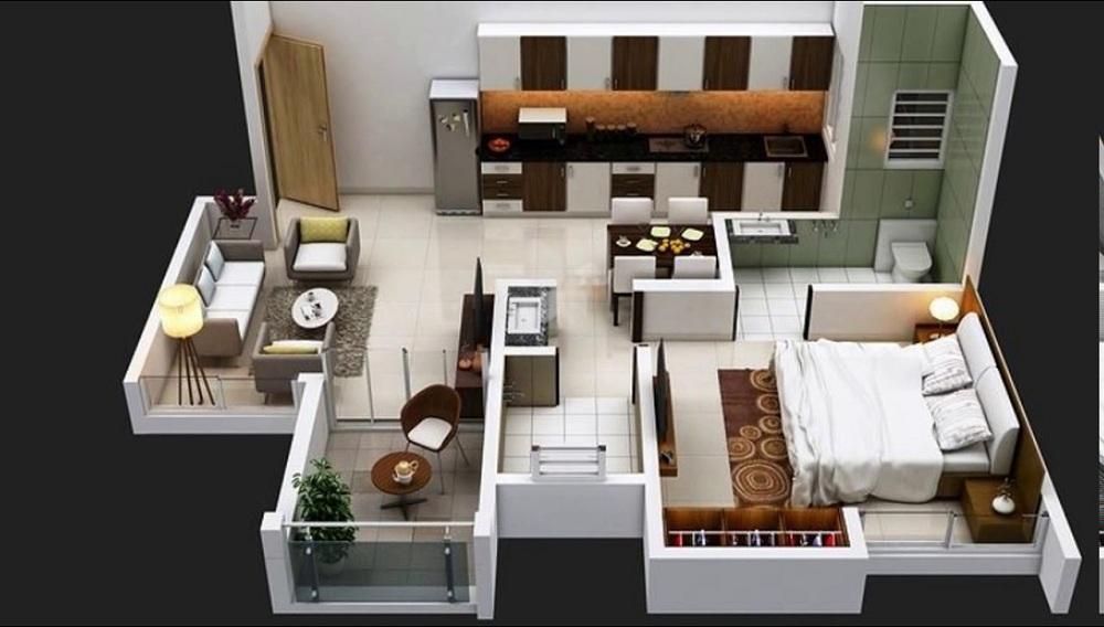Kohinoor Tinsel County Phase II Floor Plan