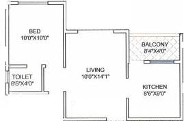 Kesar Imperial Blue Floor Plan