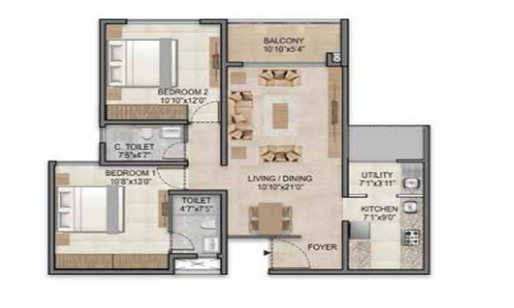 Century Horizon Floor Plan