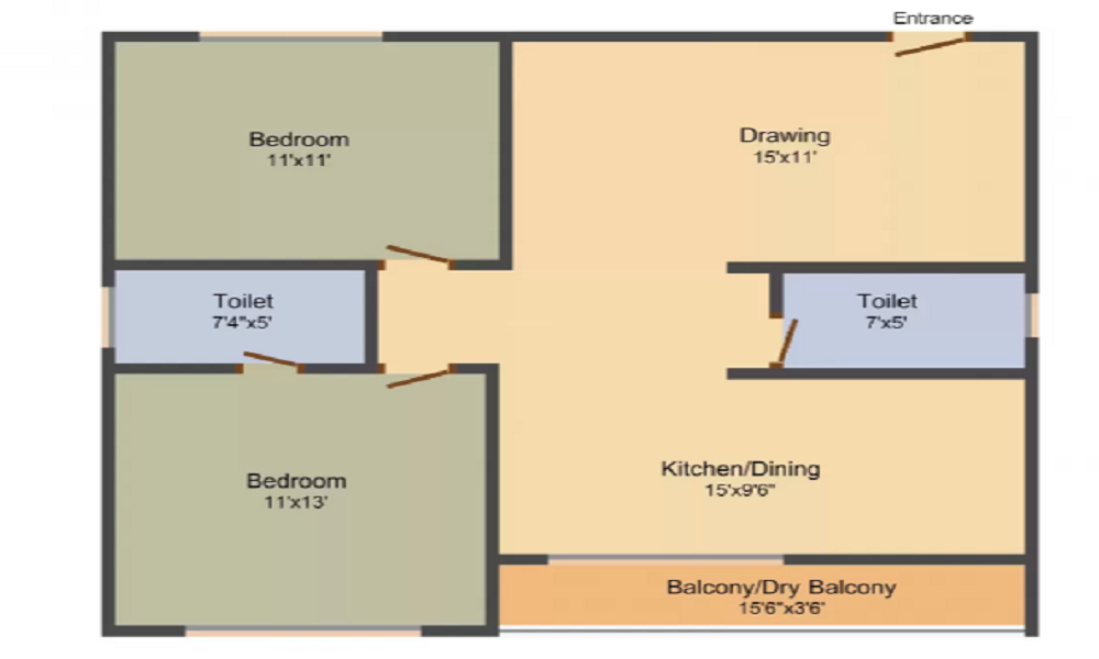 Hilife Triflora Floor Plan