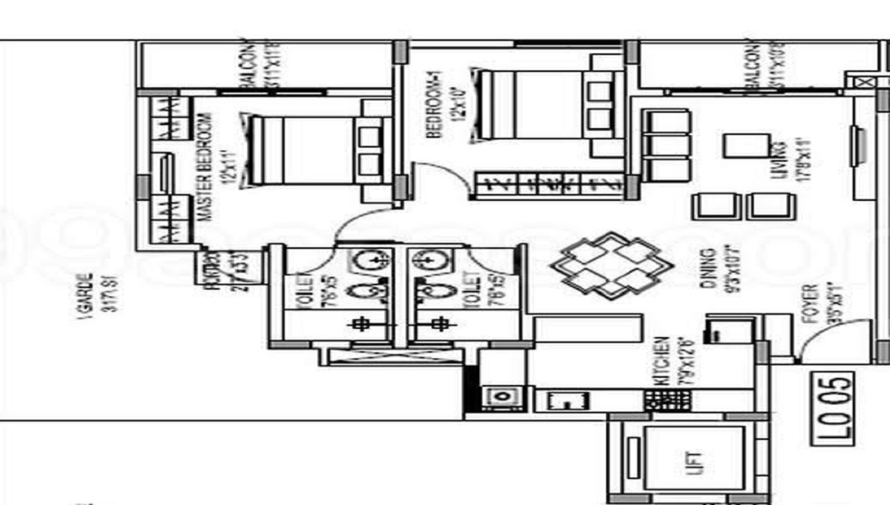 Godrej Nurture Electronic City Floor Plan