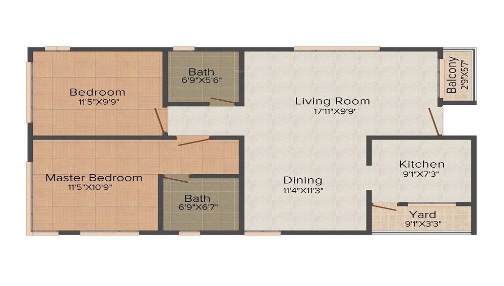 Sunway Neville Floor Plan