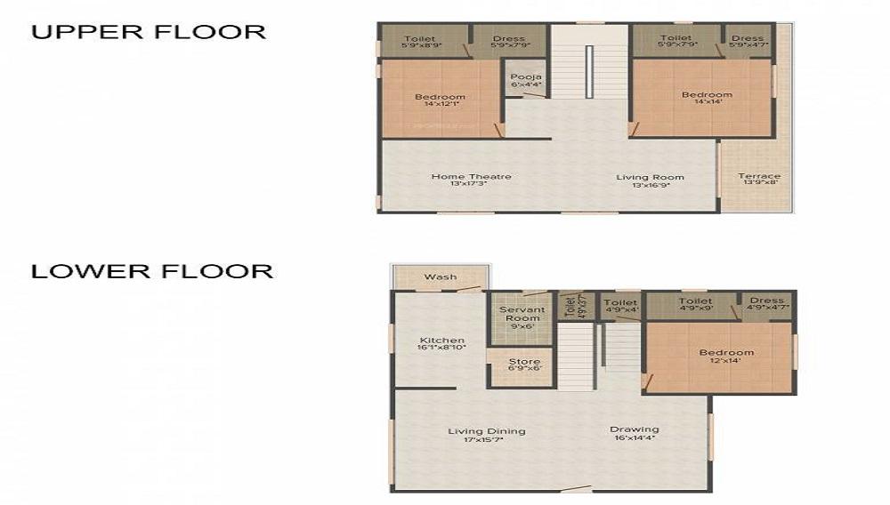 Aditya Jivika Floor Plan