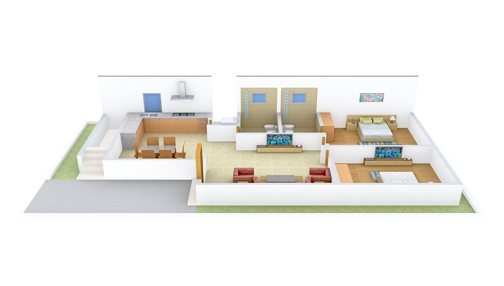 Praneeth Pranav Panorama Floor Plan