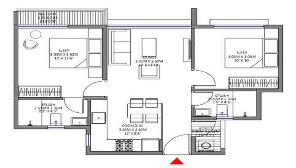 Godrej Royale Woods Floor Plan