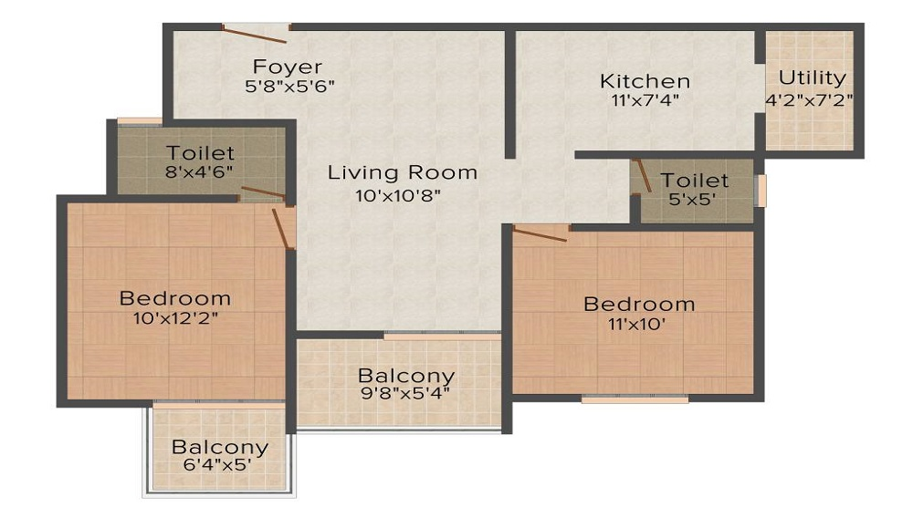Mahabaleshwara Classique Ruby Floor Plan