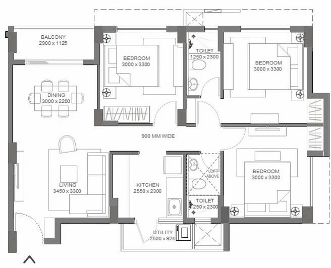 Arvind Codename Unlimited Floor Plan