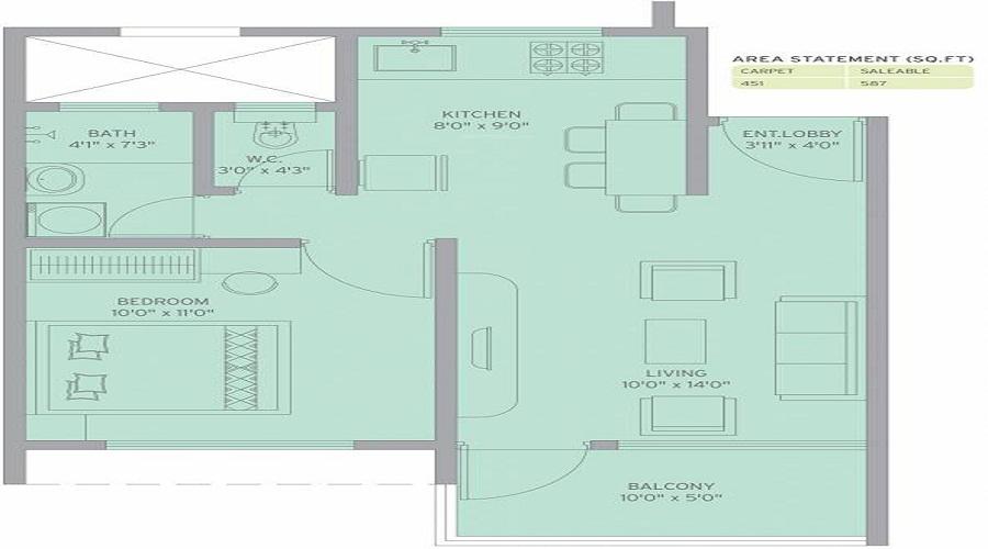 Arun Sheth Sanskriti Floor Plan