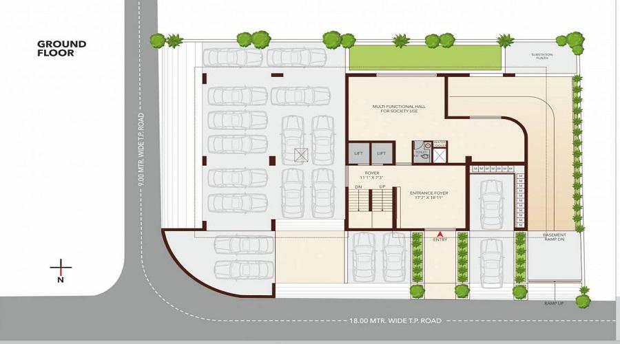 Rajshree Samvar Floor Plan