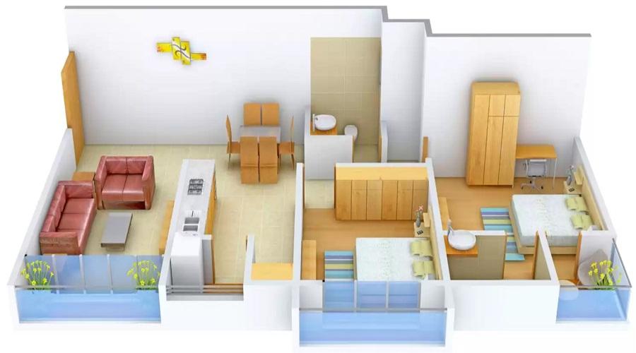 Shri Serene Lifestyle Floor Plan